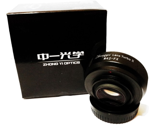 Zhongyi Optics Lens Turbo II. M42 a FX.