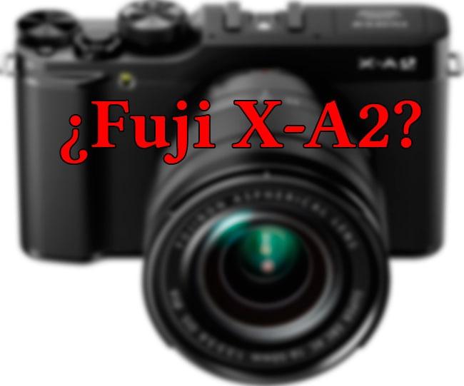 Fake Fuji X-A2