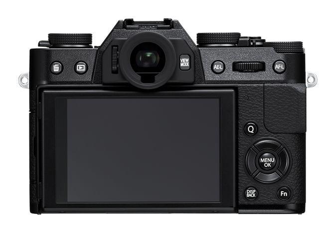 Fujifilm X-T10 trasera