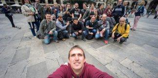 Selfie grupal por Lerkrel
