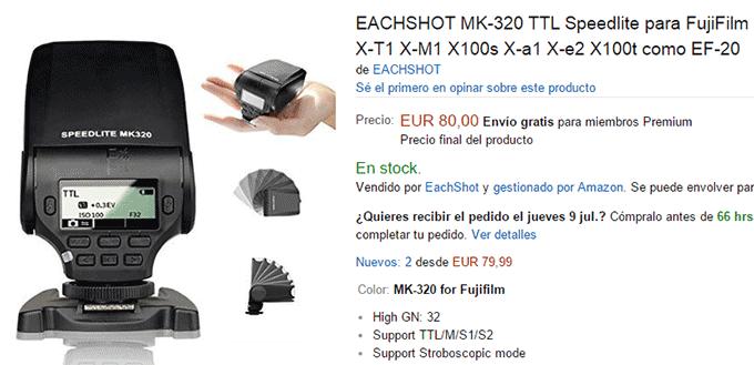 Meike Eachsot MK-320 para Fuji