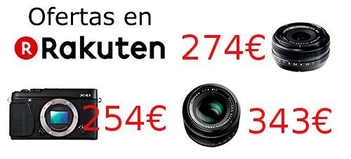 Ofertas Fujifilm Rakuten.