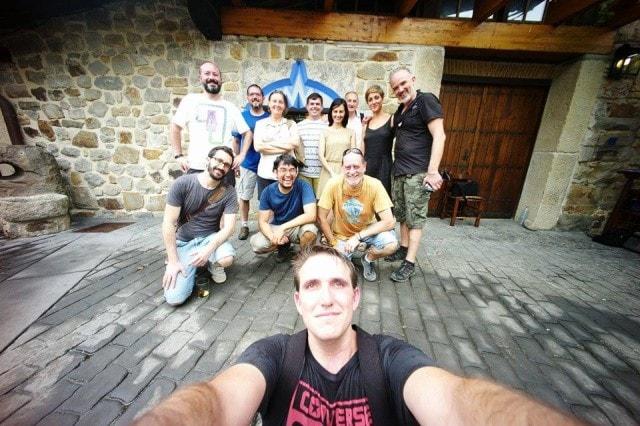 Selfie colectivo fujista por Adrián Fernández López