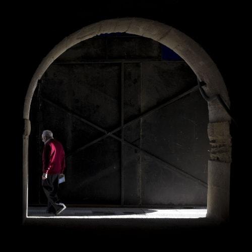 """Doblando la esquina"" por Sergio Mora-Gil, con Fujifilm X100T."