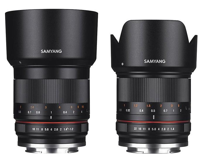 Samyang 21mm f/1.4 y 50mm f/1.2