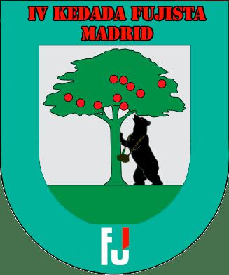 Logo de la IV Kedada de Fujistas en Madrid.