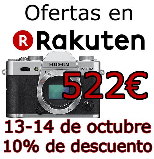 Ofertas Rakuten Fujifilm 10OCT.