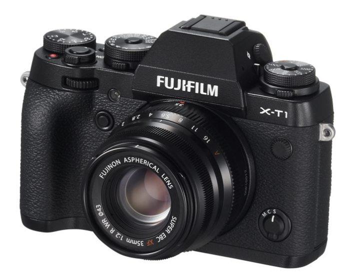 Fuji X-T1 con Fujinon XF 35mm F2 R WR.