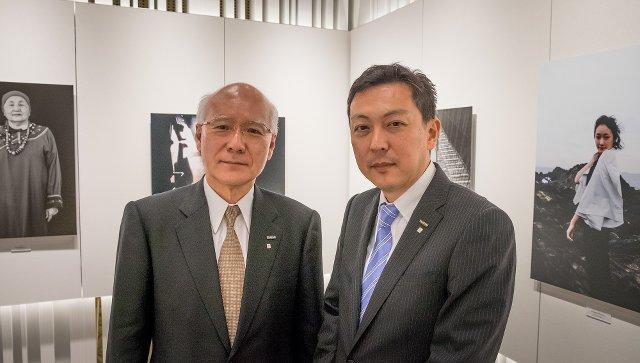 Toru Takahashi y Toshihisa Iida