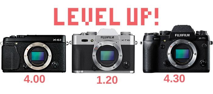Nuevo firmware 4.0 para la X-E2, 4.30 para la X-T1 y 1.20 para X-T10.