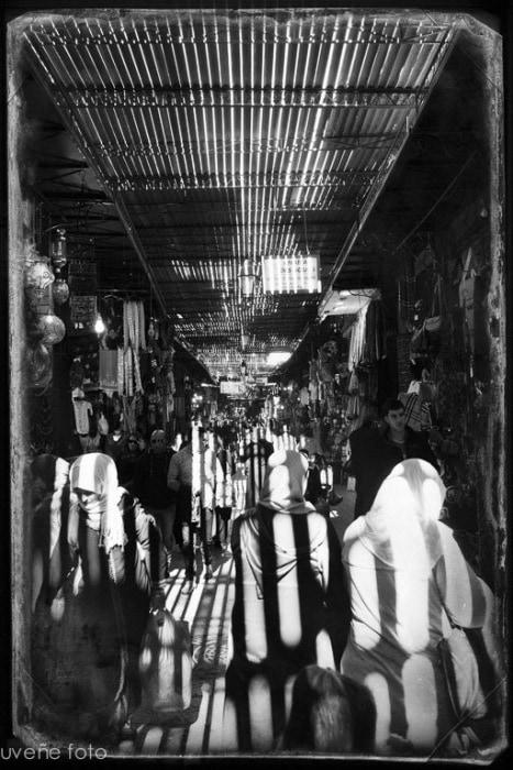 """""""Zoco en Marrakech"""", por Virgilio Hernando."""