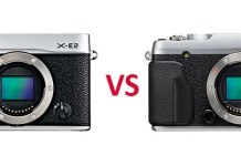Diferencias ente X-E2 y X-E2S