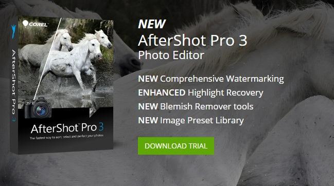 Presentación Corel After Shot Pro 3