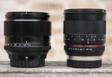 Comparativa entre el Fujinon XF 56mm f/1.2 R y el Samyang 50mm f/1.2.