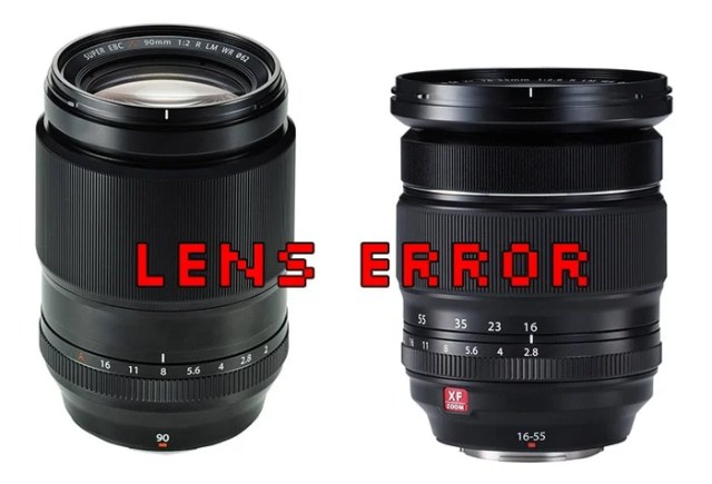 XF 90mm y XF 16-55mm error de firmware.