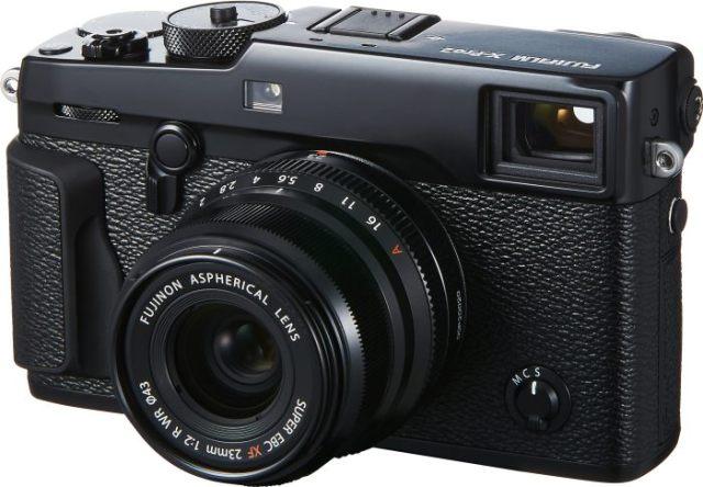 XF23mmF2 R WR negra con X-Pro2