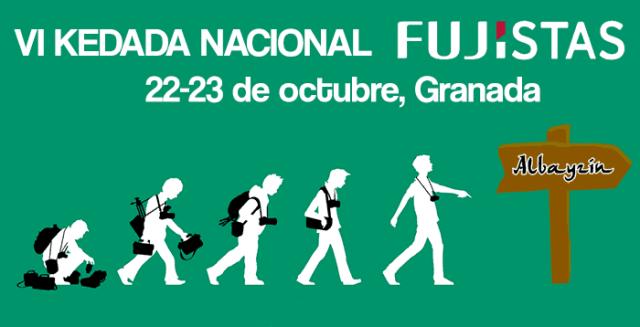 VI Kedada Nacional de Fujistas en Granada
