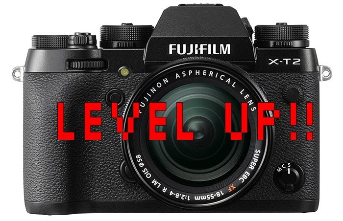 Fujifilm X-T2 nuevo firmware.