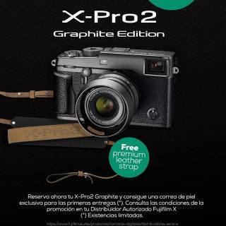 x-pro2 graphite promoción.