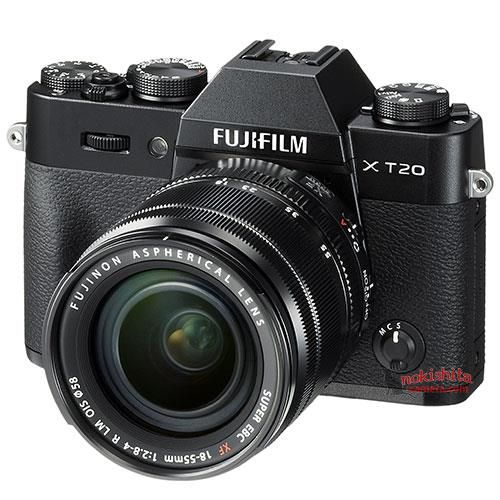 Fujifilm X-T20 filtrada.