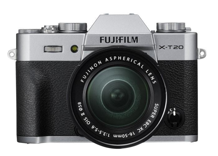 X-T20 + XC 16-50mm.