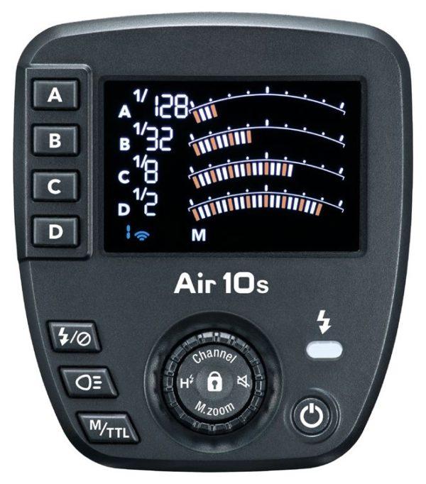 Controles del Nissin Air10S