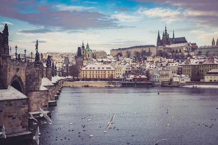 """El río Moldava de Praga"" por Jordi Núñez, con Fuji X-T1+XF 35mm F1.4,."