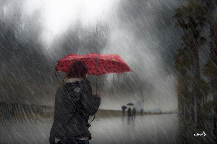 """""""Un día de lluvia"""" por Alberto Peralta, con Fuji X-E2."""
