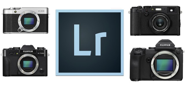 Lightroom CC 2015.9 compatible con X100F, X-T20 y GFX 50S