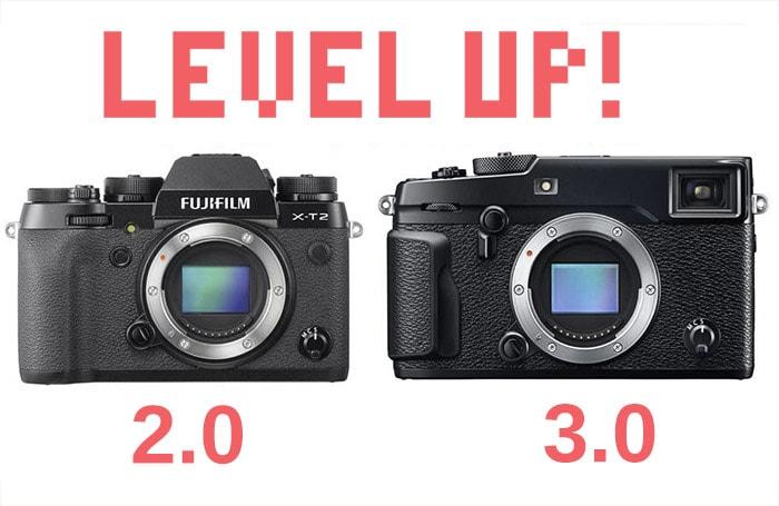 Firmware 2.0 para X-T2 y 3.00 para X-Pro2.