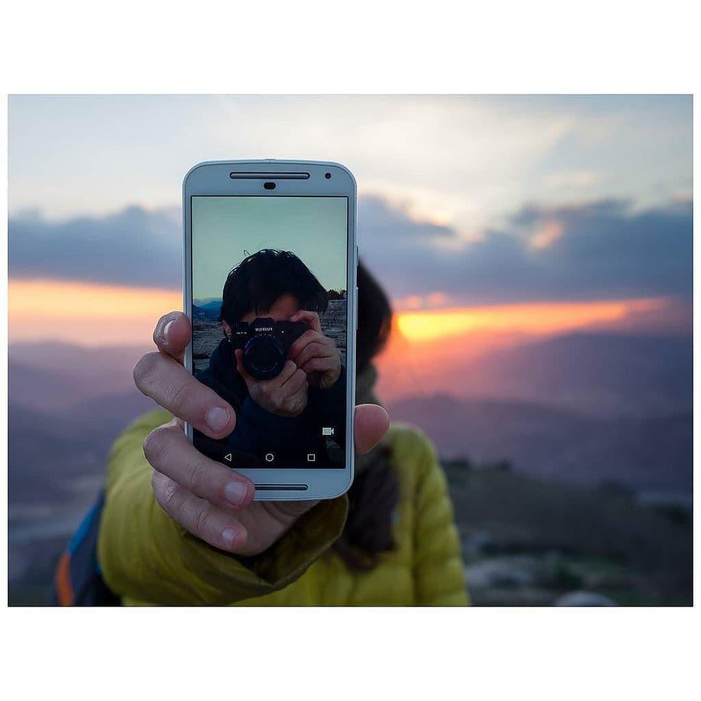 """Mención especial: """"Selfie"""" de Eloy Hernández (@eloy.hernande) Fuji XT-10 + XF 23mm F2 R WR."""