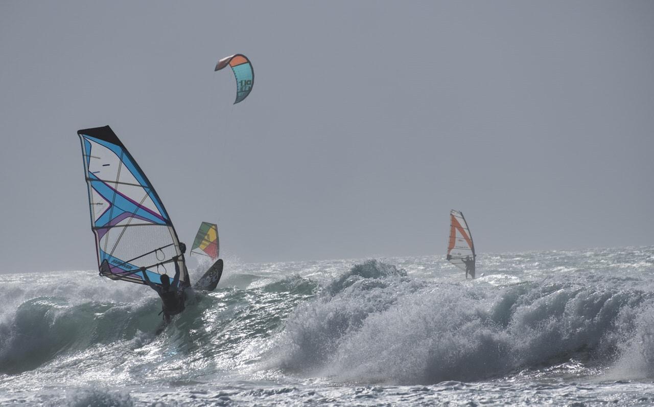 """Windsurf en Liencres"" por Txema Areizaga, con Fuji X-T2 + XF 55-200mm."