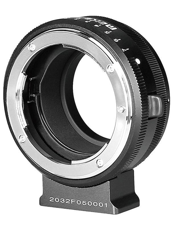 Adaptador Meike de Nikon F a Fuji X.