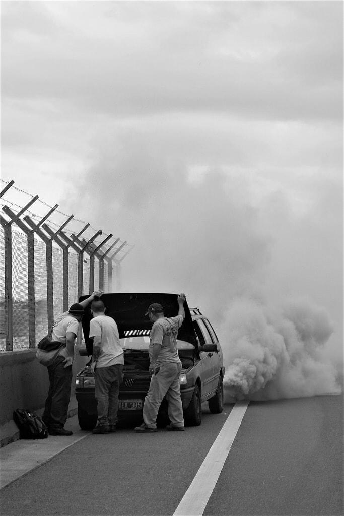 """Tercer premio: """"Autopista urbana"""" por Lidia Otero. X-E2 + Fujinon XF 35mm F1.4."""