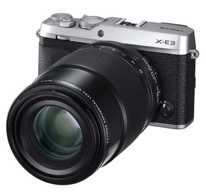 Las dos novedades más importantes de la jornada: Fuji X-E3 + XF 80mm F2.8 Macro.