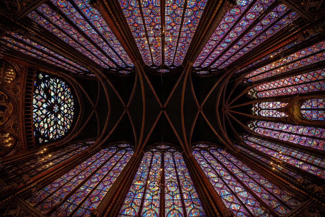 """""""La Sainte Chapelle"""" por Xavier Larrosa. X-E2 + Samyang 8mm f/2.8."""