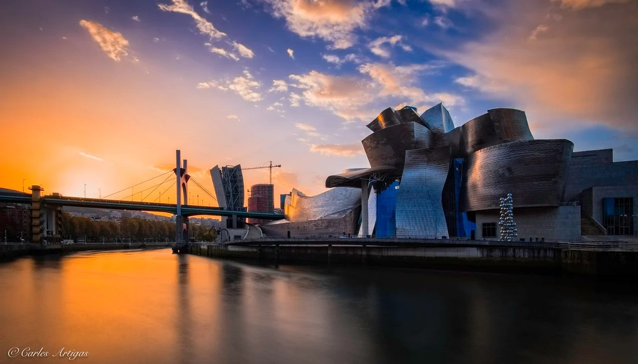 """Amanecer en Bilbao"" por Carles Artigas. Fuji X-T1 + Samyang 12mm F2."