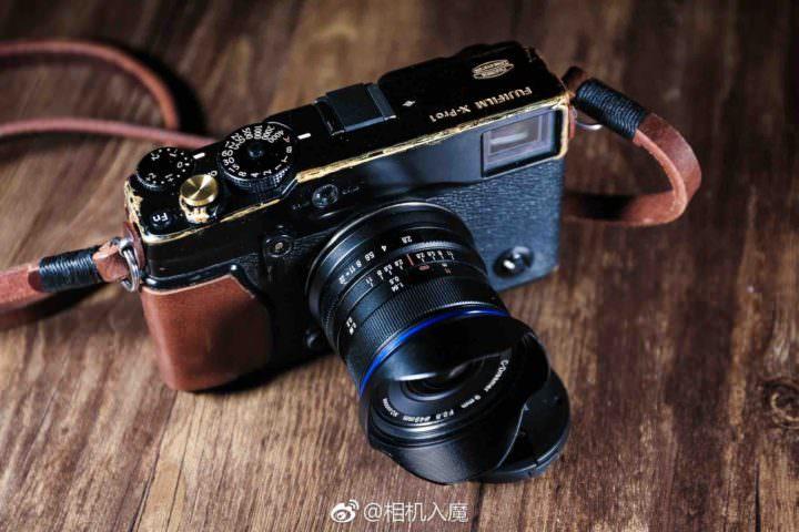 Laowa 9mm f/2.8 en una fuji X-Pro1.