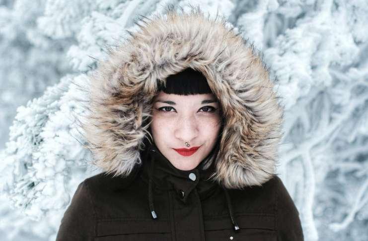 """""""Snow lady"""" por Víctor Santburg, con Fujifilm X-Pro2 + Canon FD 50mm f/1.4 adaptado."""