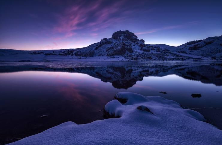 """Lago Ercina"" por César Álvarez. Fujifilm X-T2 + XF 10-24mm F4 R OIS."