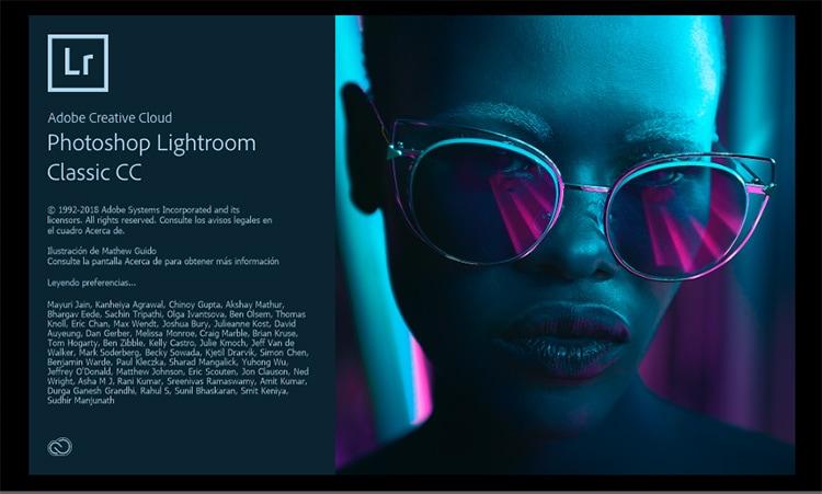 Lightroom CC Classic 7.4
