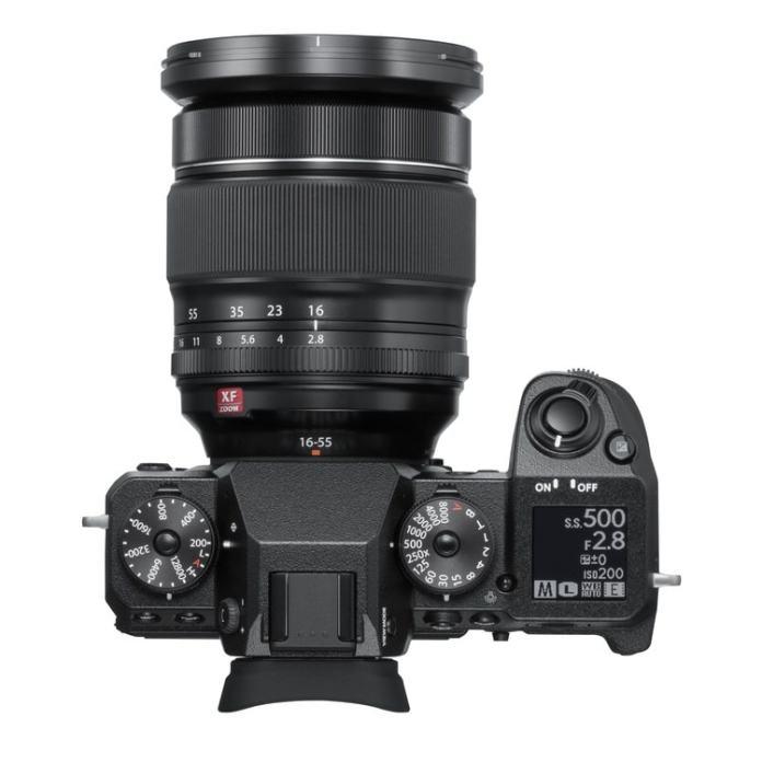 Fujifilm X-H1 por arriba