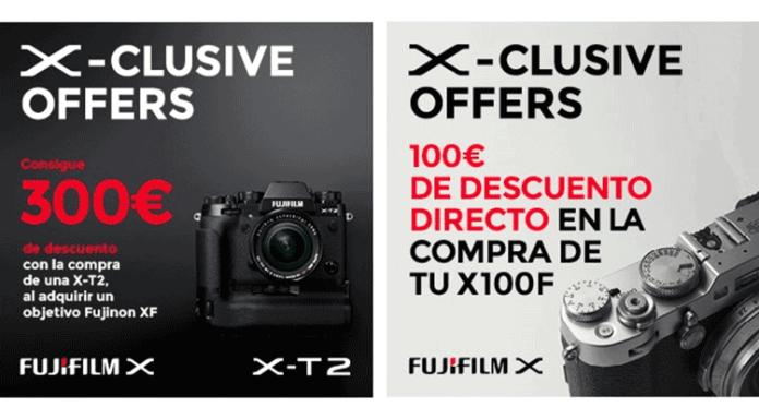 Promociones Fujifilm España de febrero 2018.