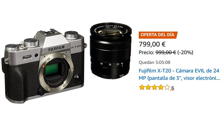 Oferta Fujifilm X-T20.