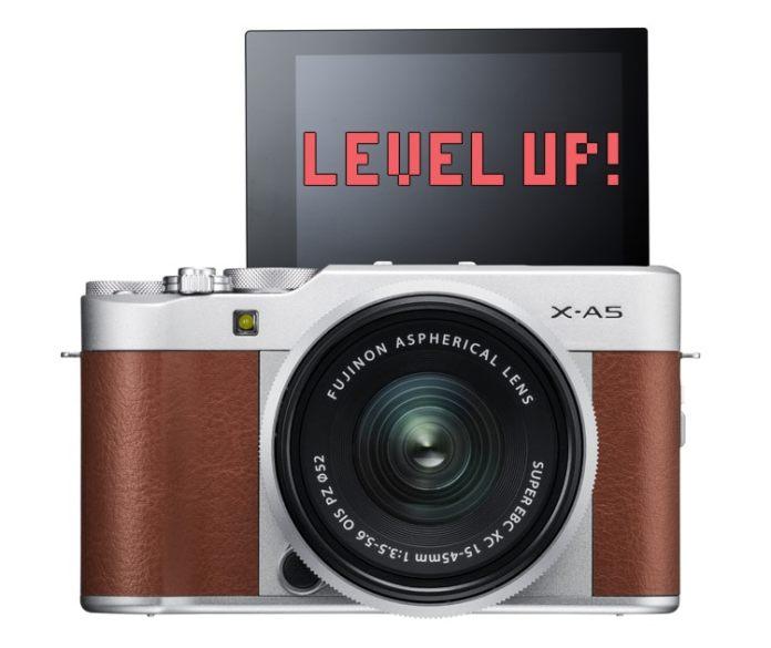 Actualización de firmware para la Fujifilm X-A5.