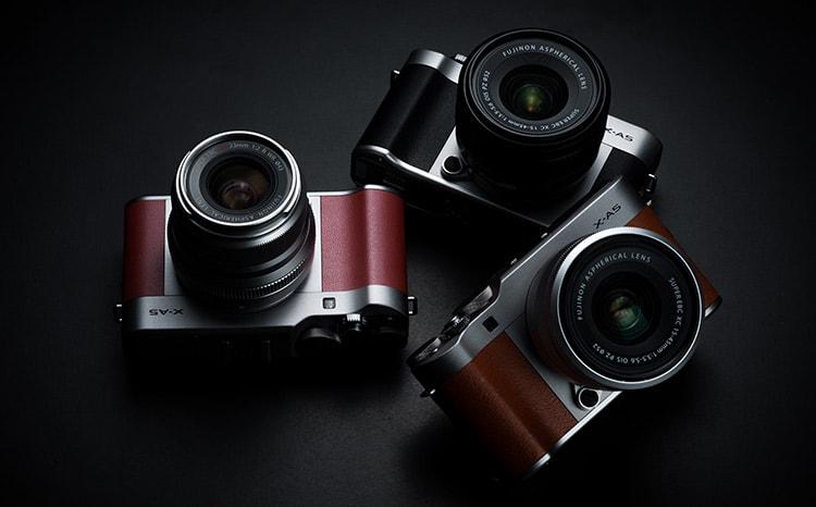 Fujifilm X-A5, varios colores.