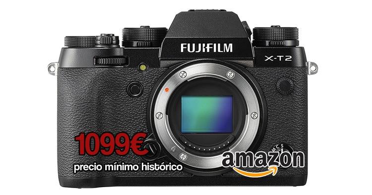 X-T2 precio mínimo en Amazon.