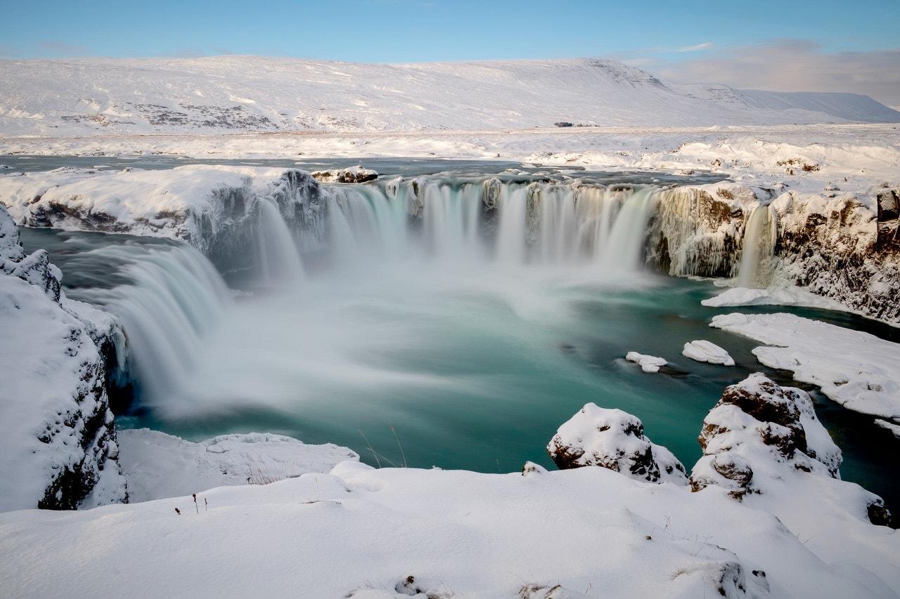 """Goðafoss"" por Cristinna Ariza. Fujifilm X-T10."