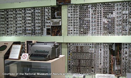 La computadora FUJIC permitió el desarrollo de objetivos Fujinon de alta precisión.