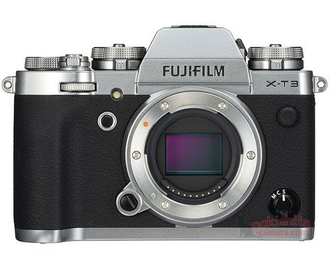 Fujifilm X-T3 plata sensor.